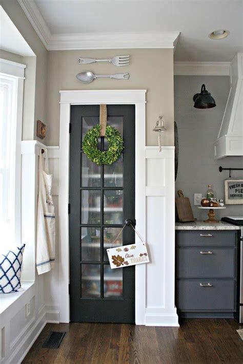 4 Door Kitchen Pantry White Black Glass Pantry Door Kitchen With White Trim