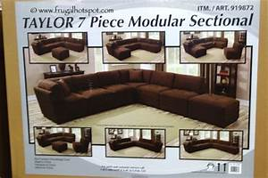 costco marks cohen taylor 7 pc fabric modular sectional With taylor 7 piece sectional sofa costco