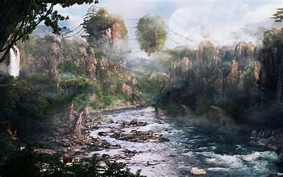 Avatar Mountains Landscape Hallelujah Zhangjiajie Wallpapers Earth
