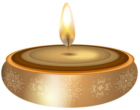 Diwali Gold Candle Transparent Png Clip Art  High-quality Image And Transparent Png Free Clipart