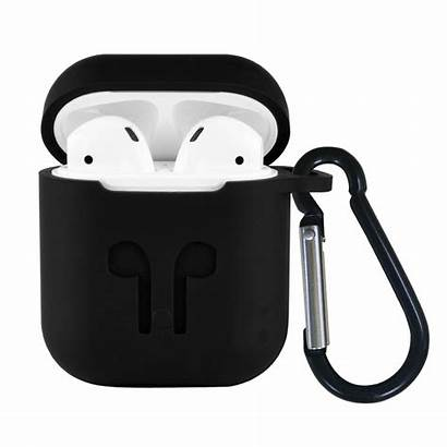 Airpods Case Silicone Protective Skin Apple Keychain