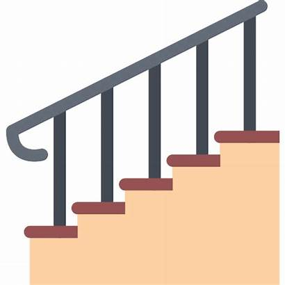 Stairs Icon Icons Flat Svg