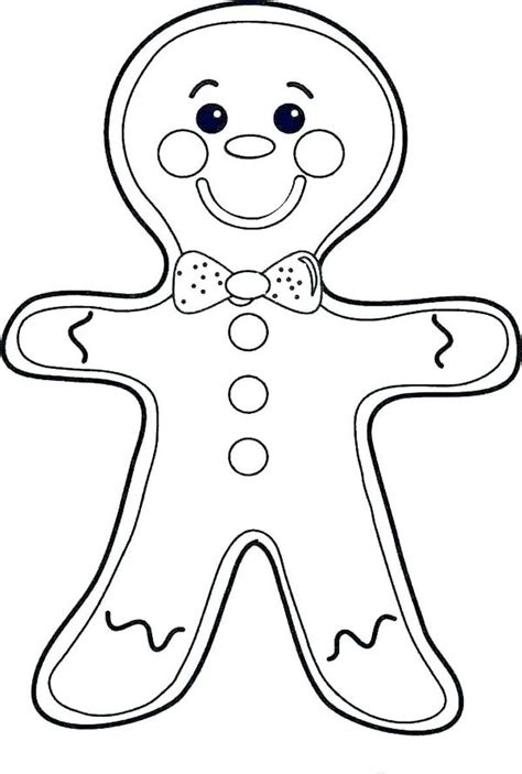 gingerbread man coloring pages ideas  christmas