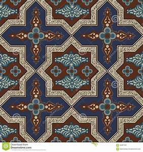 Moroccan Design Patterns Iranian Pattern 7 Stock Vector Image Of Ethnic Element