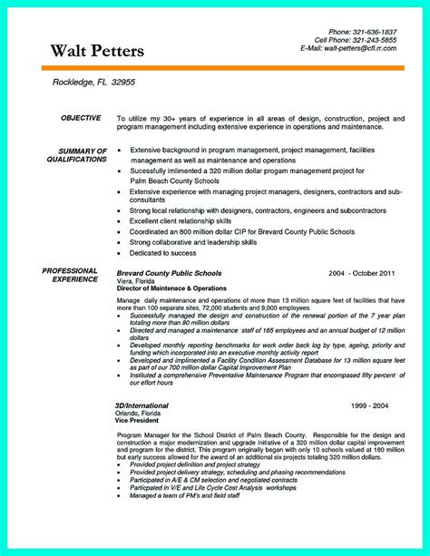 Project Assistant Resume by Cool Construction Project Manager Resume To Get Applied