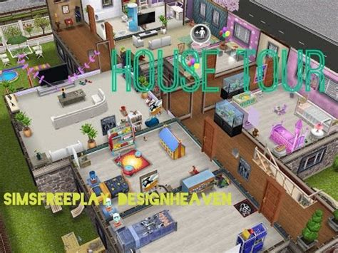 sims freeplay house design family home youtube