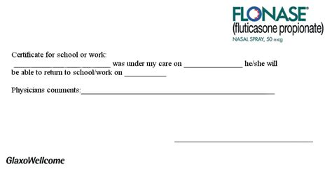 celebrity life style printable doctors excuse