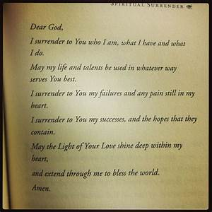 'Spiritual ... Daily Surrender Quotes