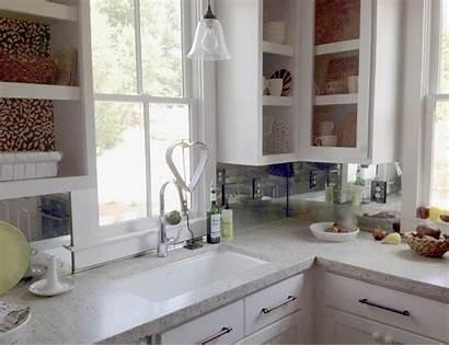 Backsplash Behind Stove Living Glass Tile Space