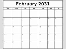 October 2030 Blank Calendar Template