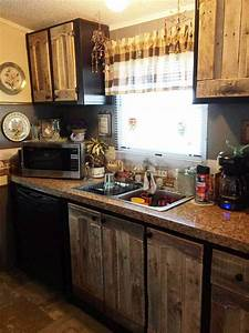 Kitchen Cabinets Using Old Pallets