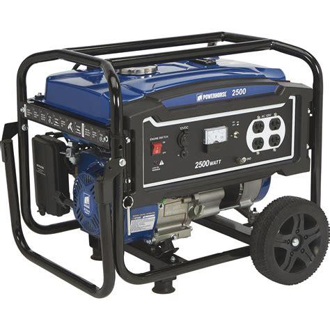 Generator Tool by Powerhorse Portable Generator 2 500 Surge Watts 2 000