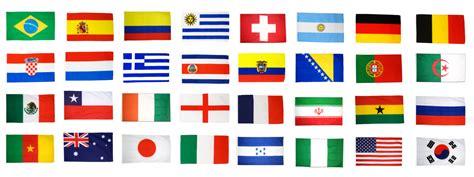 kit drapeaux coupe du monde 2014 30 x 45 cm maison des drapeaux
