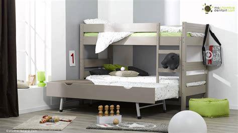 chambre avec lit superposé lit enfant superposé 1 2 3 ma chambre d 39 enfant