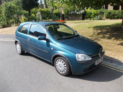 vauxhall blue used vauxhall corsa for sale under 6000 autopazar