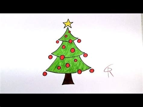 how to draw christmas tree learn how to draw a festive tree icanhazdraw