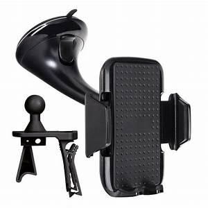 Support Telephone Voiture Carrefour : xqisit support voiture universel smartphone noir support ~ Dailycaller-alerts.com Idées de Décoration