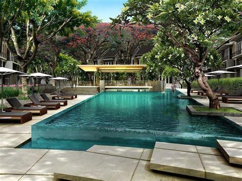 Green Bali Stone Pool Finish