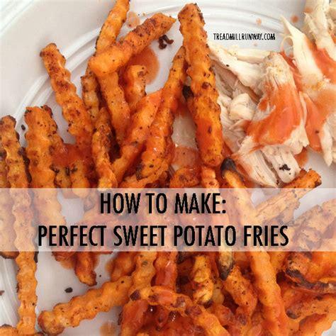 how to make fries how to make sweet potato fries