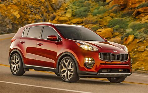 kias redesigned sportage compact crossover arrives