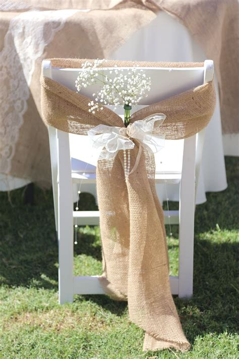 25 best ideas about wedding chair bows on