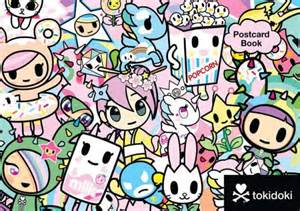 save the date post cards tokidoki multi characters postcard book by tokidoki