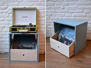 36 meubles pour ranger des vinyles With meuble 33 tours