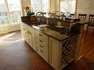 Amazing Interior Elegant Kitchen Island Sink Venting With ...
