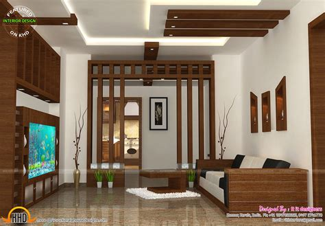 home design interior photos wooden finish interiors kerala home design and floor plans