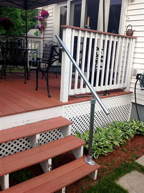 Porch Stair Handrail by 45 Porch Railing Ideas You Can Build Yourself