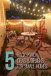 25+ best ideas about Small back porches on Pinterest small back porch patio ideas