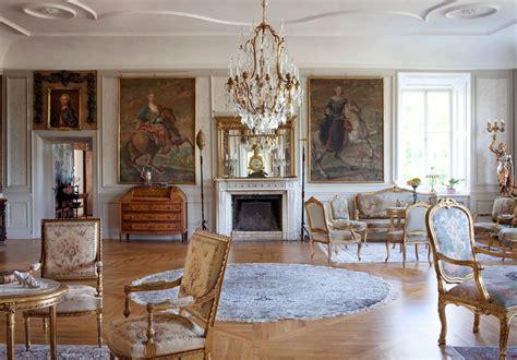 stunning baroque castle mansion  sweden idesignarch