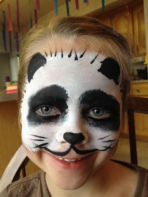 face painting panda snazaroo animals wild animals