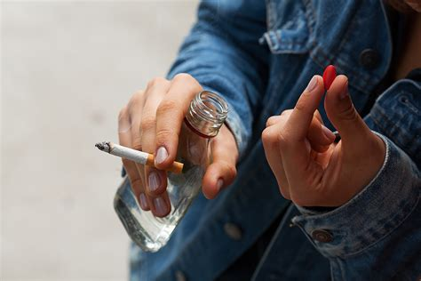 large declines   teen substance abuse delinquency