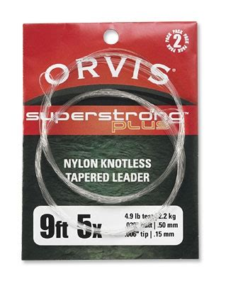 orvis super strong  knotless leader