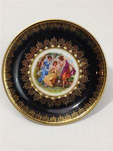 Eby De : vintage mitterteich bavaria china saucer three ladies made in germany ebay ~ Orissabook.com Haus und Dekorationen