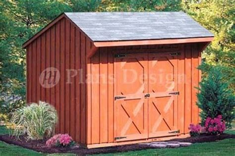 6' X 8' Playhouse Or Garden Storage Shed Plans, Material