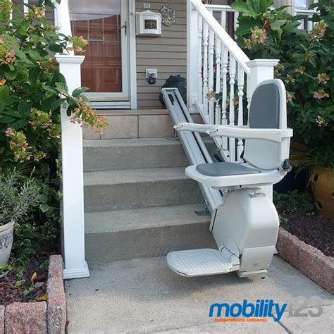 outdoor stair lifts weather proof installs in new jersey