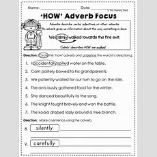 2nd Grade Language Arts And Grammar Practice Sheets Freebie (common Core Or Not) Printables