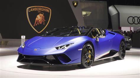 Lamborghini Launch At Geneva Motor Show 2018