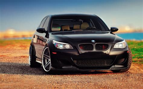 Bmw M5 Hd Picture by Wallpaper Of Bmw M5 E60 Black Front Background Hd Image