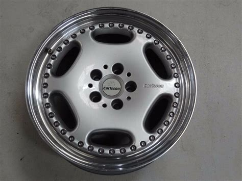 Genuine Carlsson 3/6 Wheel 18x8.5 Inch 5x112 Oz Mercedes