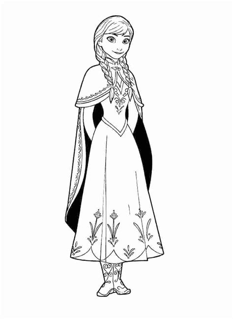 frozen anna  elsa drawing    clipartmag