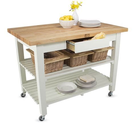 rustic kitchen islands and carts boos country work table island table