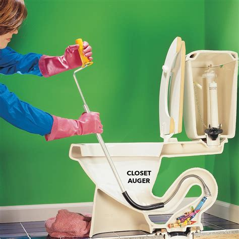 how do you fix a clogged kitchen sink how to unclog a toilet the family handyman 9676