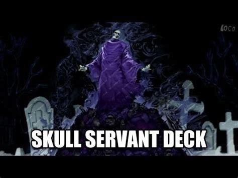 skull servant deck 2017 ygopro st 228 rkstes skull servant deck deckprofil januar 2017