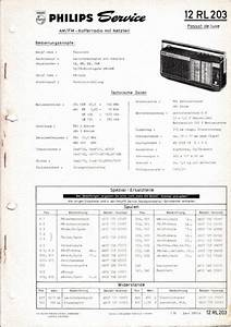 Service Manual Instructions For Philips 12 Rl 203  Passar