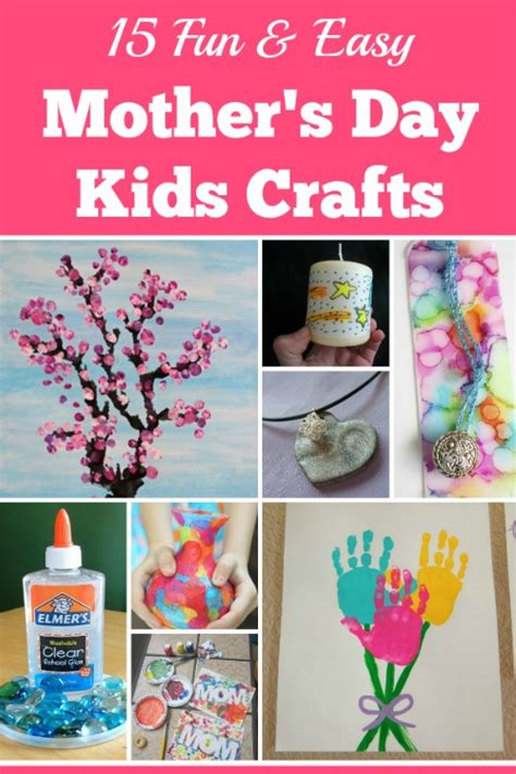 Fun And Easy Mothers Day Kids Crafts
