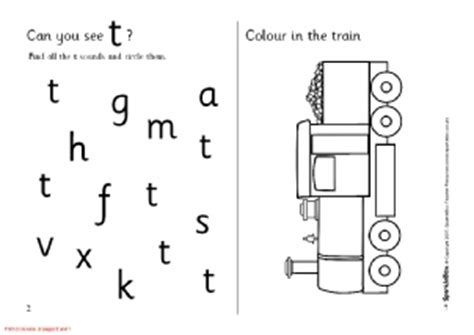 letter t phonics activities and printable teaching