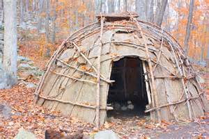 Eastern Woodland Indian Tribe Shelter